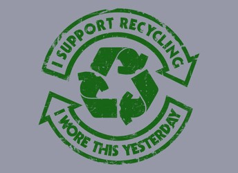 I Support Recycling - I Wore This Yesterday