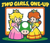 Two Girls, One Up!