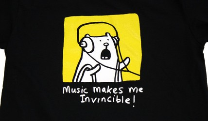 Music Makes Me Invincible