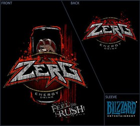 Zerg - Feel the Rush Energy Drink