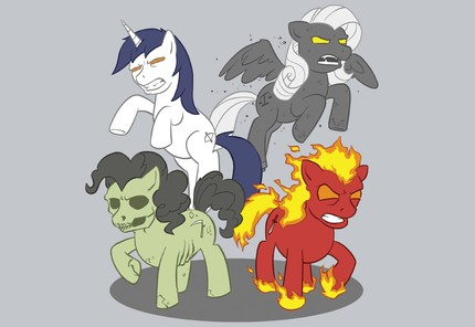 The Four Ponies of The Apocalypse