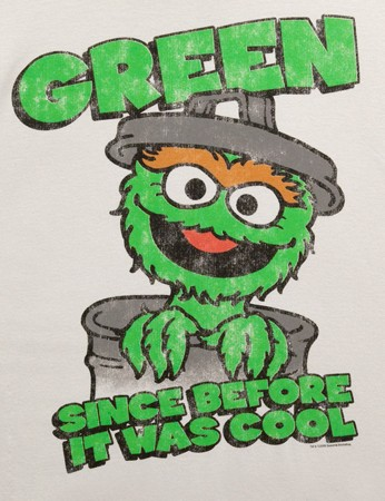Oscar The Grouch - Being Green