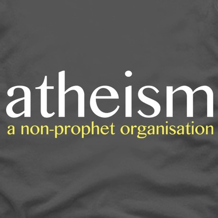 Atheism - a non-prophet organisation