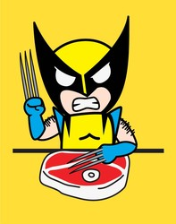 Tokidoki for Marvel Wolverine