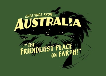 Greetings from australia the friendliest place on earth shirt greetings from australia the friendliest place on earth m4hsunfo