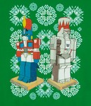 Faux Transformers Ugly Christmas (Sweater)