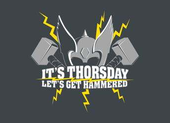 It's Thorsday, Let's Get Hammered