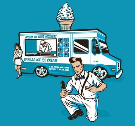 Vanilla Ice Cream Man