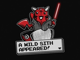 A wild sith appeared!